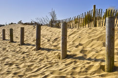 Formby Sands landscape Stock Photography