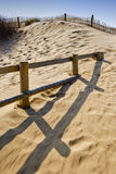 Formby sands scenic Stock Images