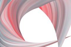 Forme abstraite colorée multi sur un fond blanc illustration libre de droits