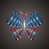 Forme abstraite de guindineau Photographie stock libre de droits