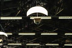 Forme abstraite de lumières de cerf-volant images libres de droits