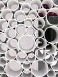 Forme abstraite de vue de tube Fond de tubes illustration de vecteur