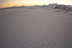 Forme arctique de neige Photographie stock libre de droits