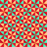 Forme astratte del triangolo Immagini Stock Libere da Diritti