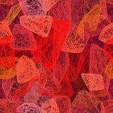 Forme astratte rosse, sangue royalty illustrazione gratis