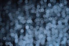 Forme bleue lumineuse de cercle Image libre de droits