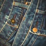 Forme calças de brim Imagem de Stock