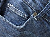 Forme calças de brim Fotos de Stock