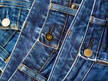 Forme calças de brim Foto de Stock