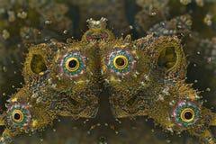 Forme colorée abstraite photo libre de droits