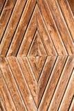 Forme concentrique de losanges de fond en bois image libre de droits