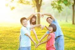 Forme d'amour Images libres de droits