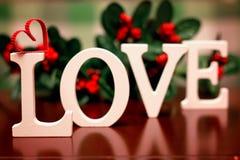 Forme d'amour de Saint Valentin Images libres de droits