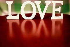 Forme d'amour de Saint Valentin Photos stock
