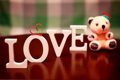 Forme d'amour de Saint Valentin Photo stock