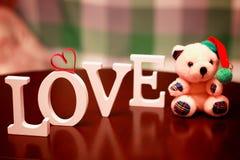 Forme d'amour de Saint Valentin Photographie stock