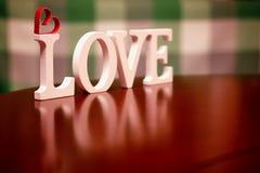 Forme d'amour de Saint Valentin Photos libres de droits