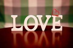 Forme d'amour de Saint Valentin Image libre de droits