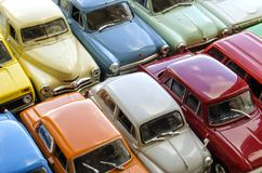 Forme d'annata dell'industria automobilistica sovietica fotografia stock libera da diritti