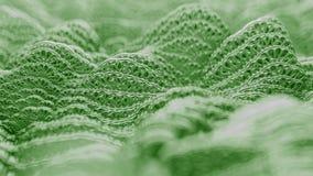 Forme d'onde abstraite animation de 4K UHD banque de vidéos