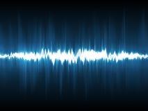 Forme d'onde abstraite de foudre Image libre de droits