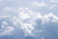 Forme de ciel l'avion Photographie stock