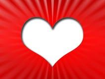 Forme de coeur Illustration de Vecteur