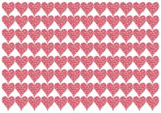 Forme de coeur illustration stock