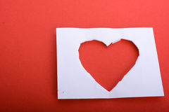 Forme de coeur Photo stock