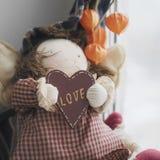 Forme de coeur d'amour Photographie stock libre de droits