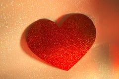 Forme de coeur d'amour de partie Image stock