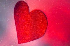 Forme de coeur d'amour de partie Photo stock