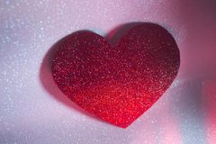 Forme de coeur d'amour de partie Photo libre de droits