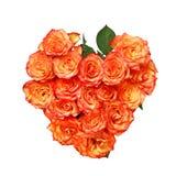 forme de coeur de bouquet Photo stock