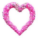 Forme de coeur de fleur Photographie stock