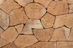 Forme de conception de mur de briques Images libres de droits