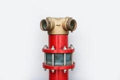 Forme de la bouche d'incendie I sur le fond blanc Images stock