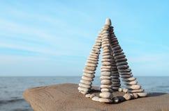 Forme de la pirámide Fotos de archivo libres de regalías