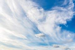 Forme de nuage Images libres de droits