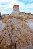 Forme de relief d'érosion de loess Photographie stock