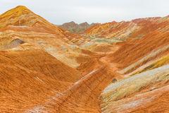 Forme de relief de charme de Danxia Photos stock