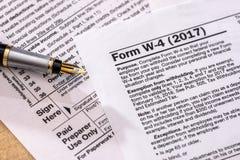forme de retour d'impôt sur les sociétés - 1120 photo libre de droits