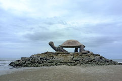 Forme de tortue de pavillon Image libre de droits