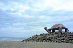 Forme de tortue de pavillon Photographie stock libre de droits