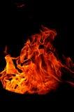 Forme del fuoco Fotografie Stock