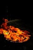Forme del fuoco Fotografie Stock Libere da Diritti
