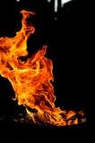Forme del fuoco Fotografia Stock Libera da Diritti