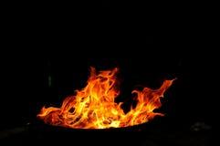 Forme del fuoco Fotografia Stock