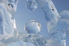 Forme del ghiaccio Fotografia Stock Libera da Diritti