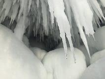 Forme del ghiaccio Immagine Stock Libera da Diritti